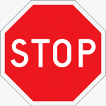 Pest Stop sign